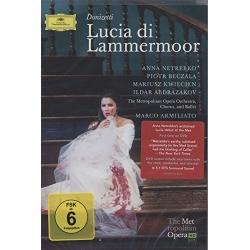 Donizetti: Lucia Di Lammermoor Blu-ray Cover