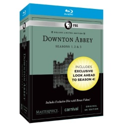 Downton Abbey: 3-Season Boxed Set Blu-ray Cover