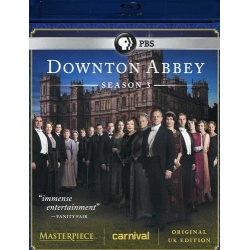 Downton Abbey: Season 3 Blu-ray Cover