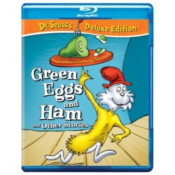 Dr. Seuss: Green Eggs and Ham and Other Stories Blu-ray Cover