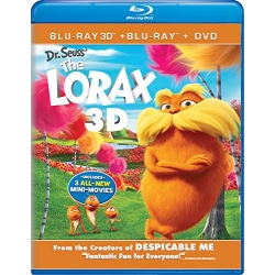 Dr. Seuss' The Lorax 3D Blu-ray Cover