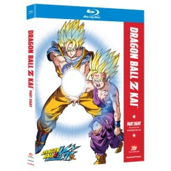 Dragon Ball Z Kai: Part Eight Blu-ray Cover