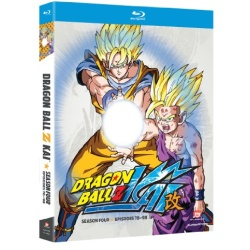 Dragon Ball Z Kai: Season Four Blu-ray Cover
