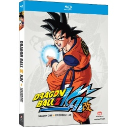 Dragon Ball Z Kai: Season One Blu-ray Cover