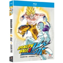 Dragon Ball Z Kai: Season Two Blu-ray Cover
