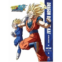 Dragon Ball Z Kai: The Final Chapters Part One Blu-ray Cover