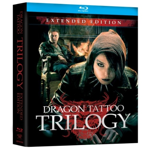 dragon tattoo trilogy extended edition blu ray disc title