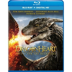 Dragonheart: Battle for the Heartfire Blu-ray Cover
