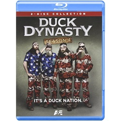 Duck Dynasty: Season 4 Blu-ray Cover