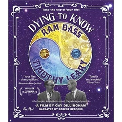 Dying to Know: Ram Dass & Timothy Leary Blu-ray Cover