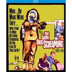 Earth Dies Screaming Blu-ray Cover