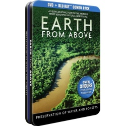 Earth From Above: Preservation of Water and Forests Blu-ray Cover