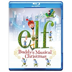Elf: Buddy's Musical Christmas Blu-ray Cover
