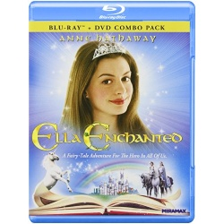 Ella Enchanted Blu-ray Cover