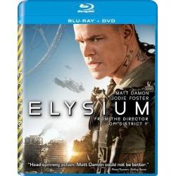 Elysium Blu-ray Cover