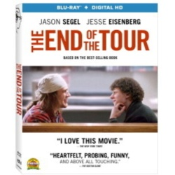 End of the Tour Blu-ray Cover