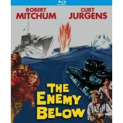 Enemy Below Blu-ray Cover