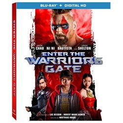 Enter the Warriors Gate Blu-ray Cover