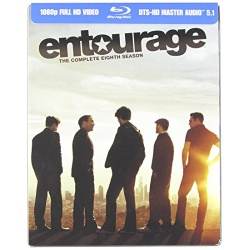 Entourage: The Complete Eighth Season Blu-ray Cover