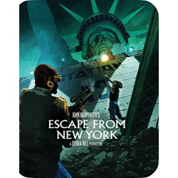 Escape from New York Blu-ray Cover