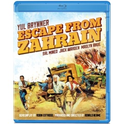 Escape from Zahrain Blu-ray Cover