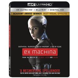 Ex Machina Blu-ray Cover