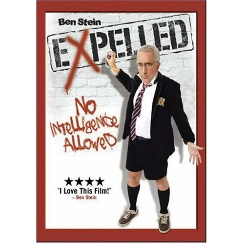 expelled no intelligence allowed Expelled: no intelligence allowed is an abrahamic propaganda piece clumsily masquerading as a pseudo-documentary, created by the known semite and painfully unfunny opportunist comedian, ben stein.