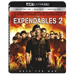 Expendables 2 Blu-ray Cover