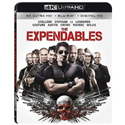Expendables Blu-ray Cover