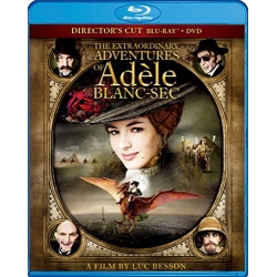 Extraordinary Adventures of Adele Blanc-Sec Blu-ray Cover