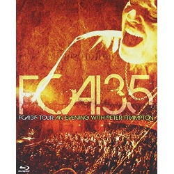 FCA 35 Tour: An Evening with Peter Frampton Blu-ray Cover