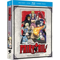 Fairy Tail: Collection Eight Blu-ray Cover