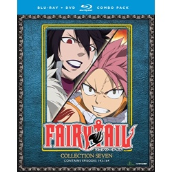 Fairy Tail: Collection 7 Blu-ray Cover