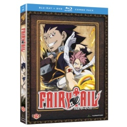 Fairy Tail: Part 2 Blu-ray Cover