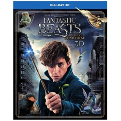 Fantastic Beasts and Where to Find Them Blu-ray Cover