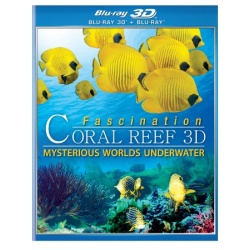 Fascination Coral Reef: Mysterious Worlds Underwater 3D Blu-ray Cover