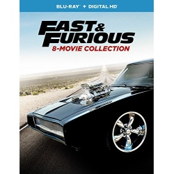 Fast & Furious 8-Movie Collection Blu-ray Cover