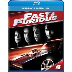 Fast & Furious Blu-ray Cover