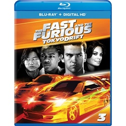 Fast and the Furious: Tokyo Drift Blu-ray Cover