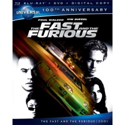 Fast and the Furious Blu-ray Cover