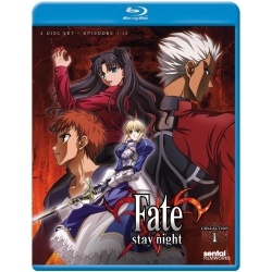 Fate / Stay Night: TV Collection 1 Blu-ray Cover