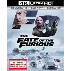 Fate of the Furious Blu-ray Cover