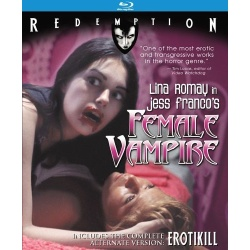Female Vampire Blu-ray Cover