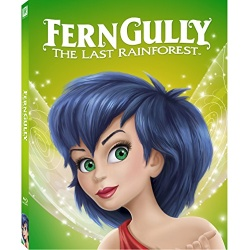 Ferngully: The Last Rainforest Blu-ray Cover