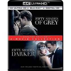 Fifty Shades: 2-Movie Collection Blu-ray Cover
