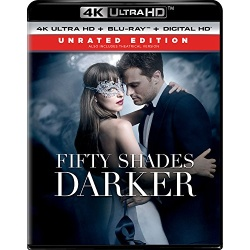 Fifty Shades Darker Blu-ray Cover