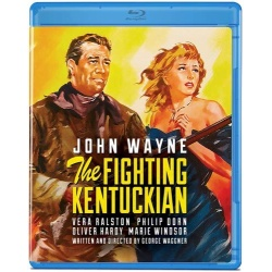 Fighting Kentuckian Blu-ray Cover