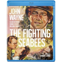 Fighting Seabees Blu-ray Cover
