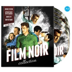 Film Noir Collection: Volume One Blu-ray Cover