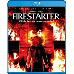 Firestarter Blu-ray Cover
